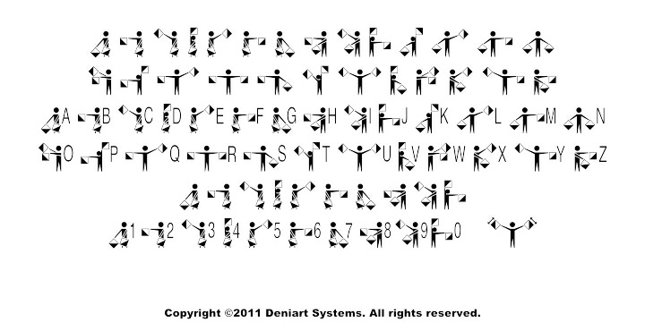 Deniart Systems Signals And Signs Fonts
